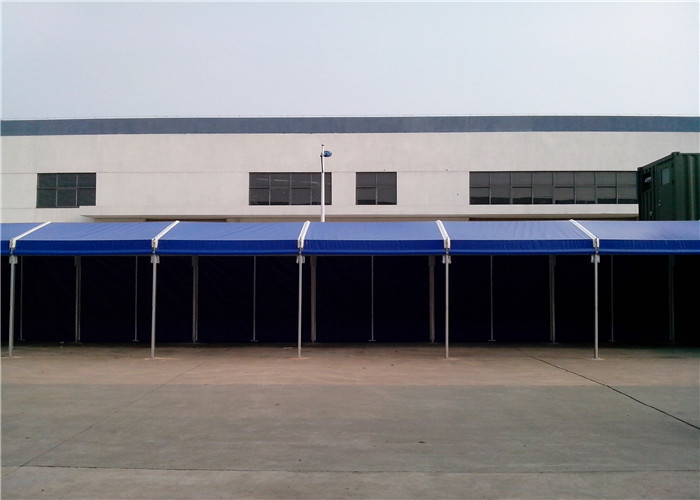 Clear Span Roof Top Industrial Warehouse Tent With Sidewalls Quick Assembly