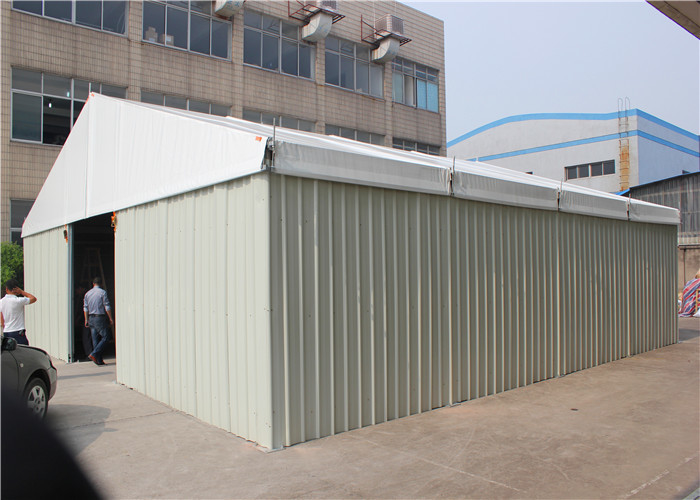 Industrial Warehouse Tent Double Coated PVC Outdoor Storage Tent
